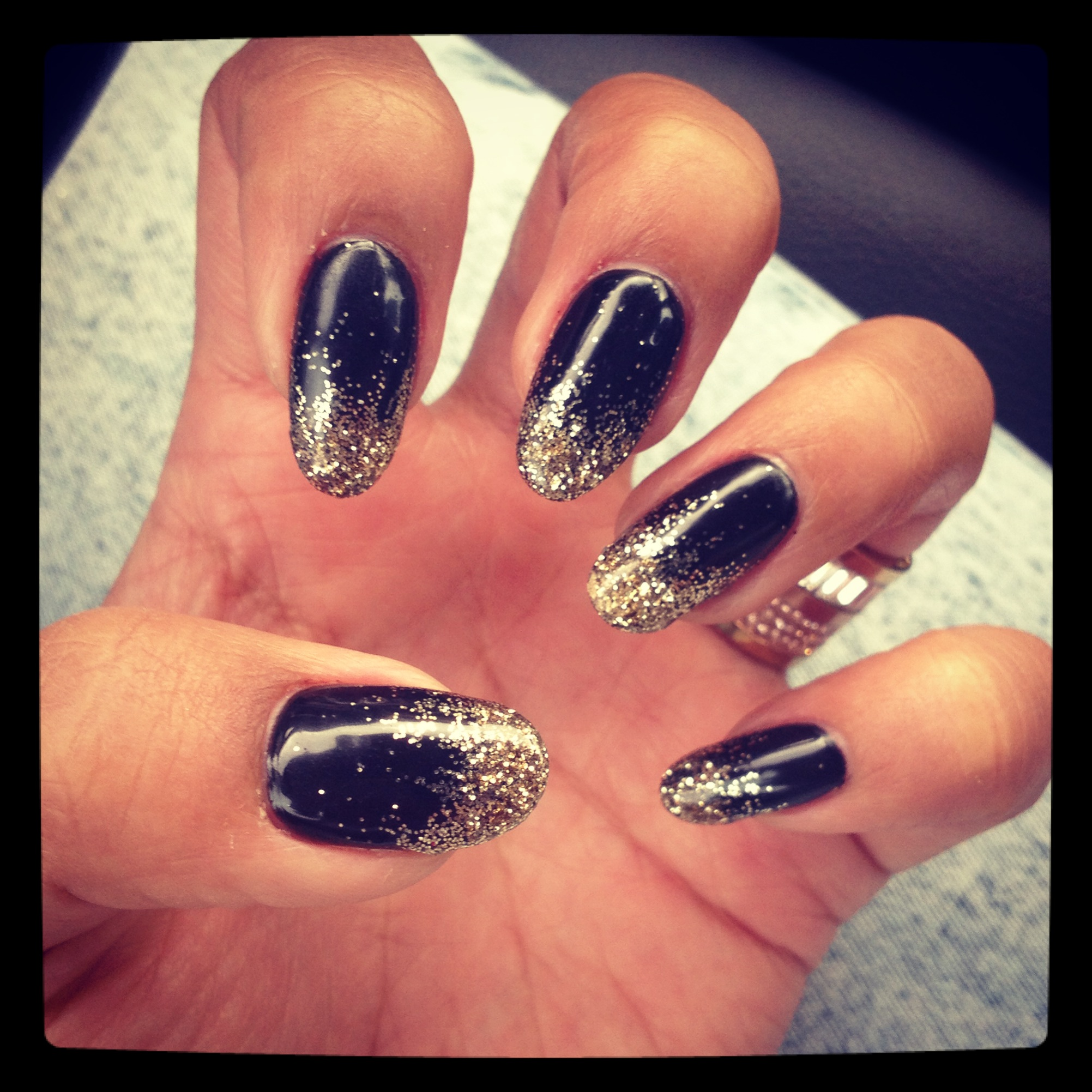New Years Eve Nails | Tia Alese Wong