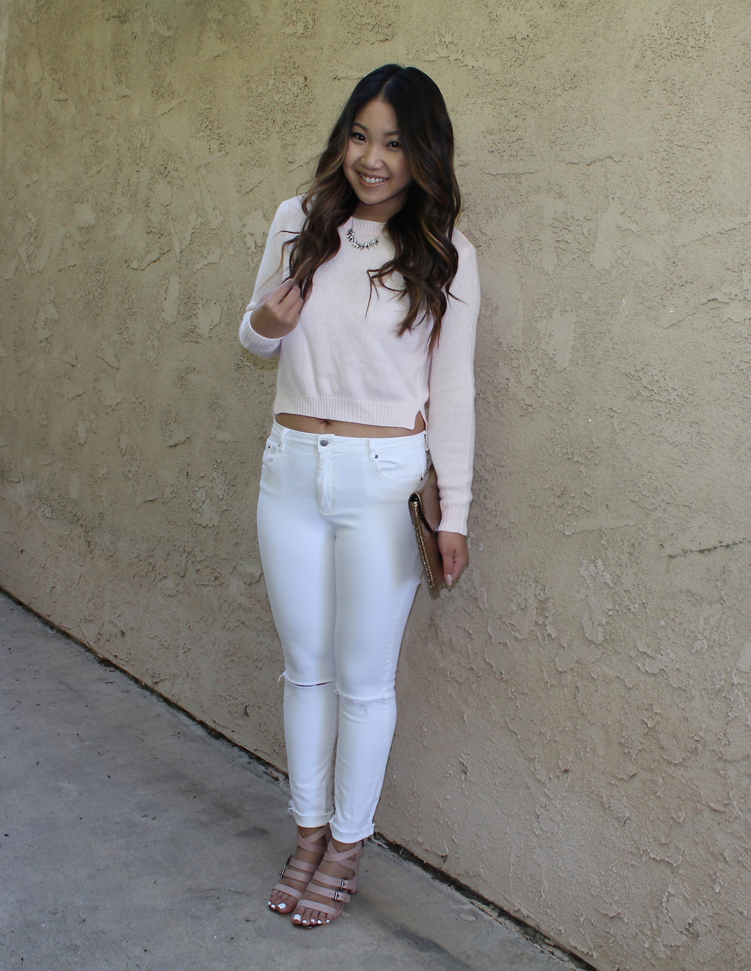 Tops On White Jeans