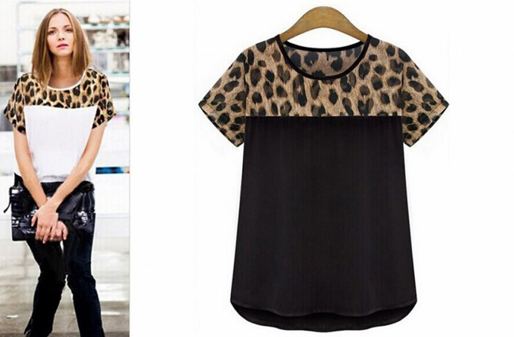 Cheetah Short Sleeve