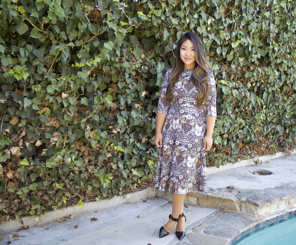 Tia Wong - Church Outfit