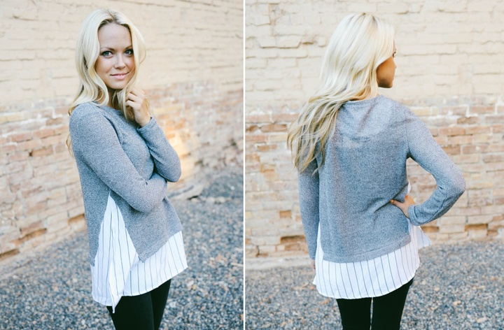 Layered Sweater