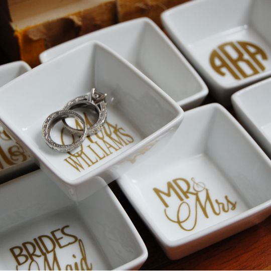 Monogram Ring Dishes