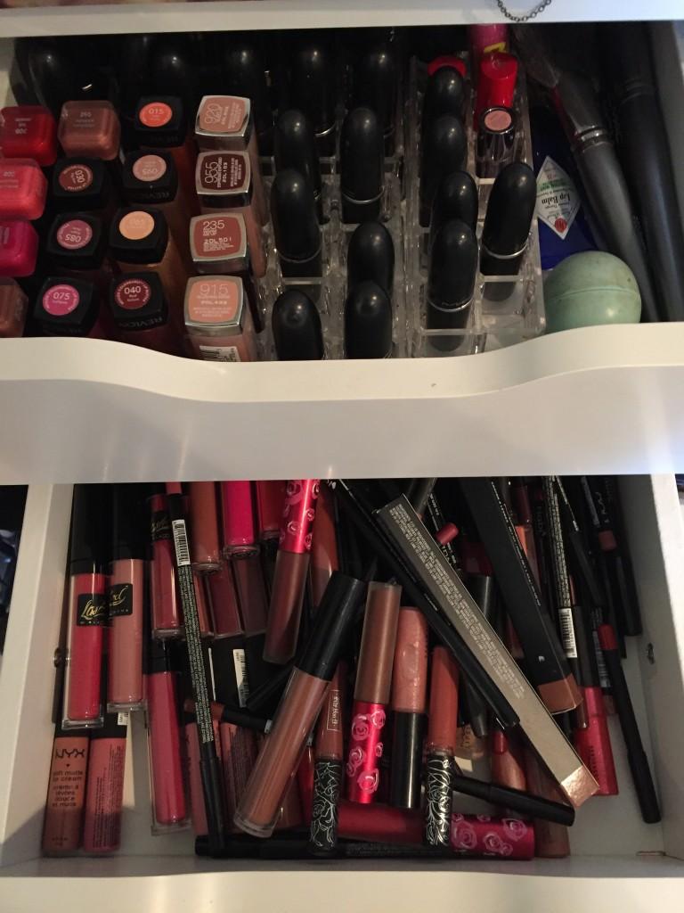 Lipstick organization - tia Wong