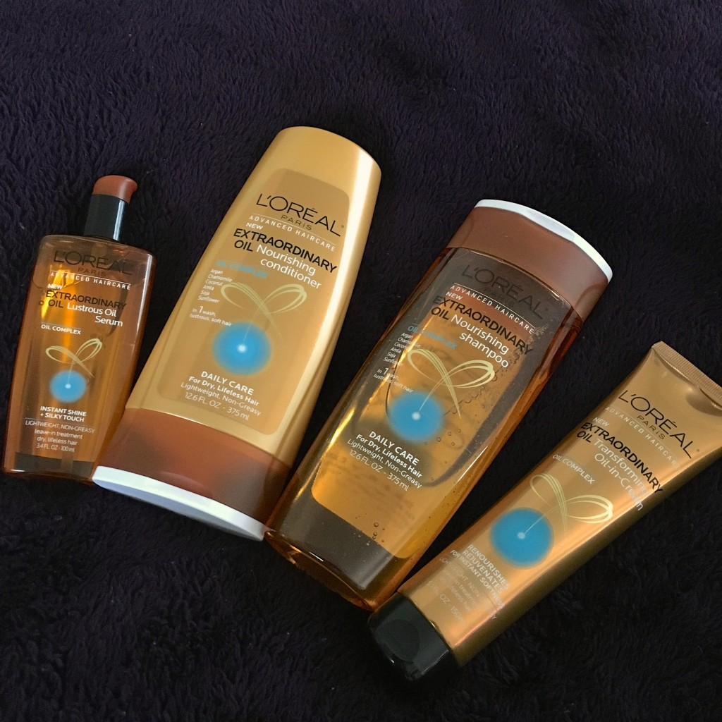 Loreal extraordinary Oil shampoo system - L'Oréal Paris Extraordinary Oil