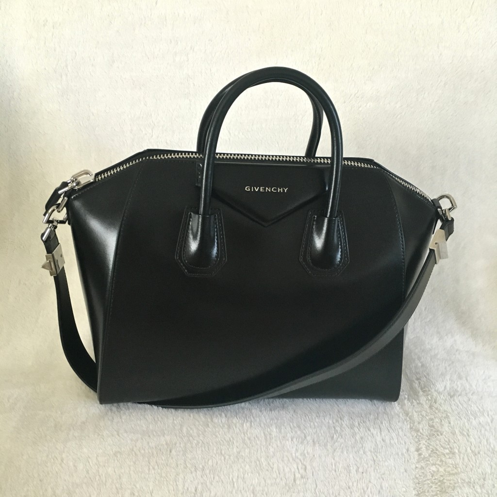 Givenchy Antigona Leather Satchel Bag