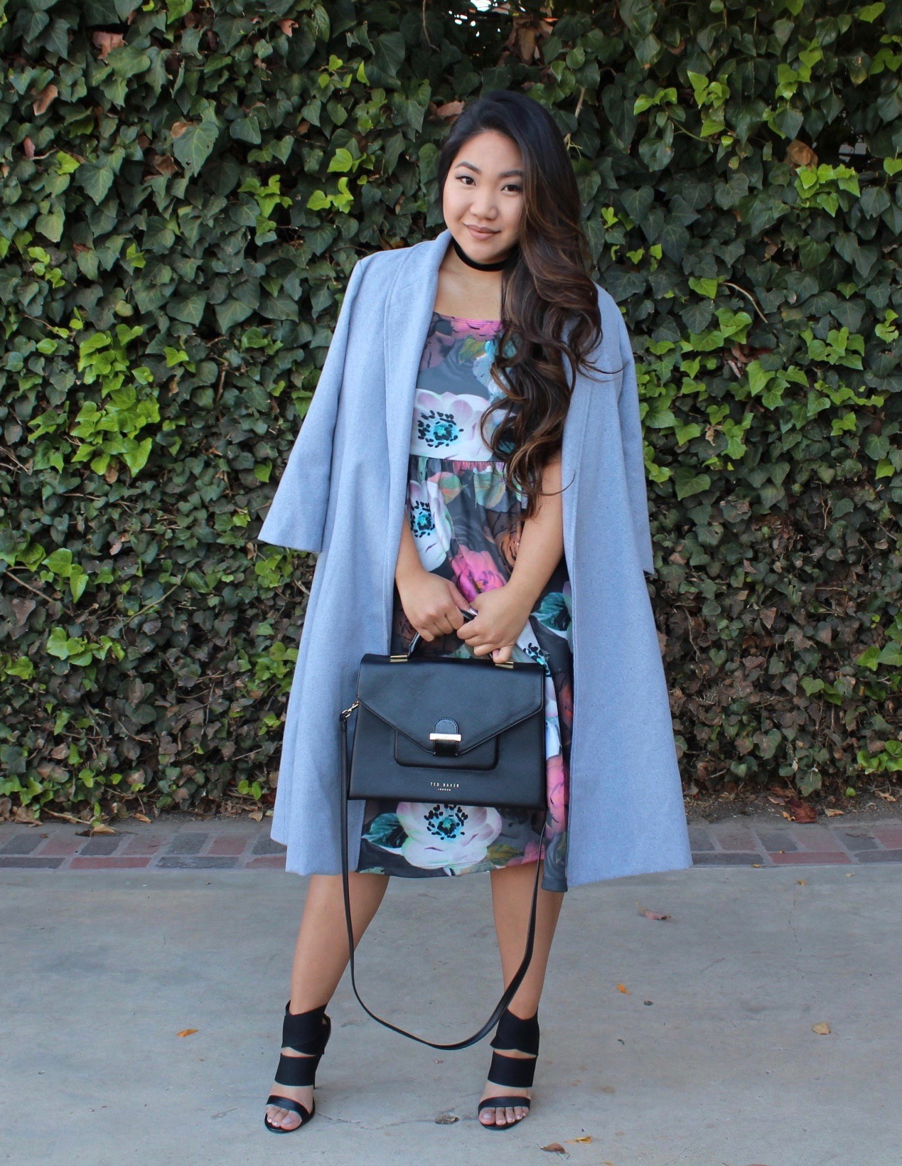 floral-midi-dress - ASOS Floral Midi Dress