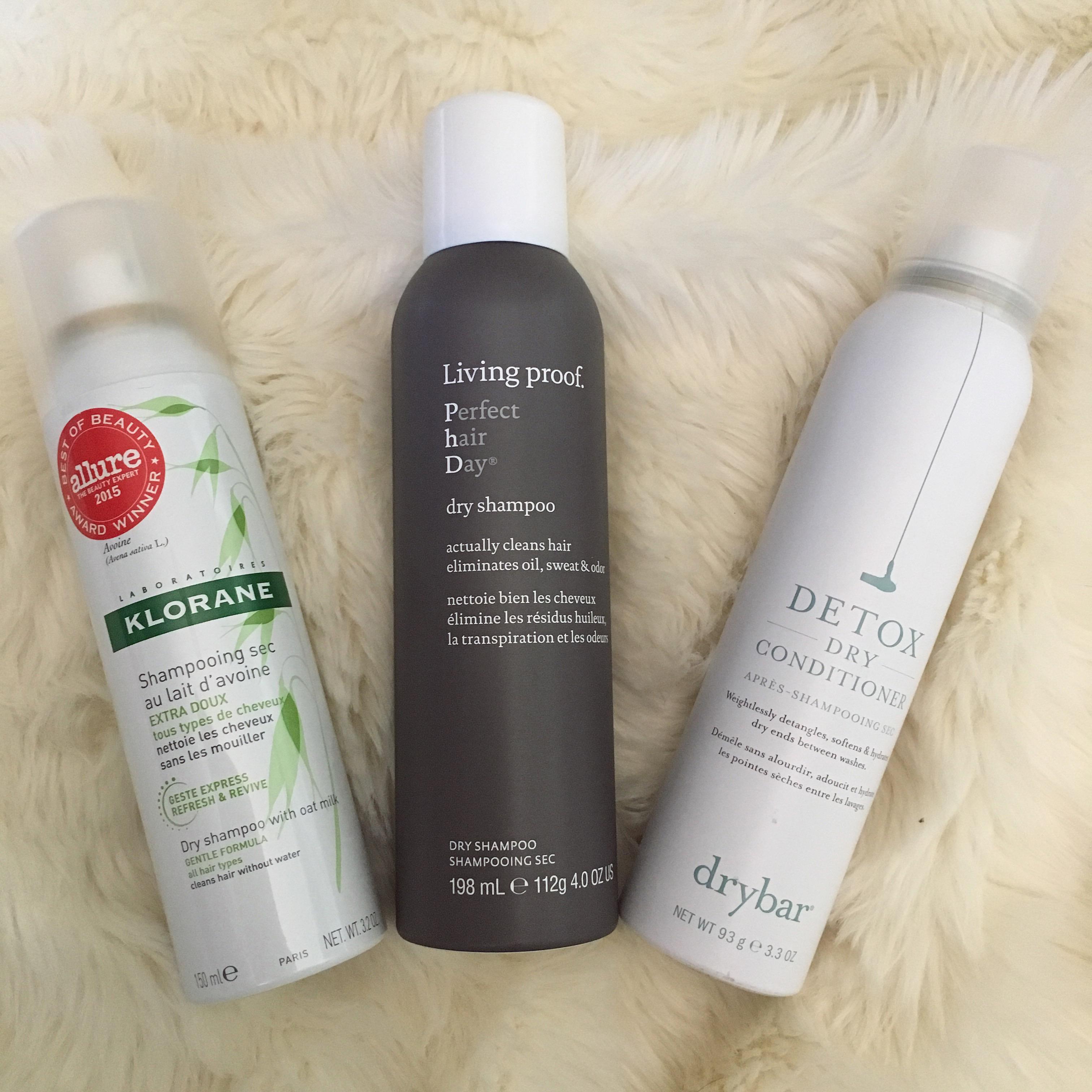 My Favorite Dry Shampoos