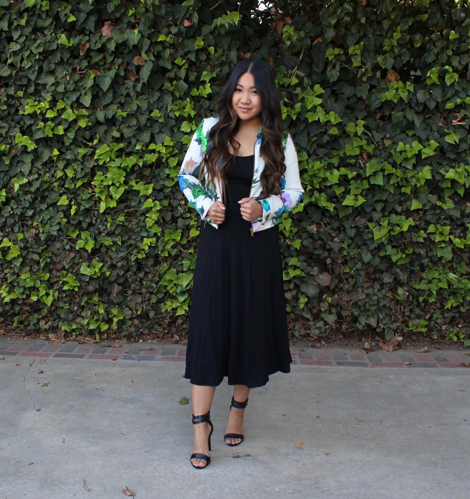 Tia Wong - Leith Stretch Knit Midi Dress