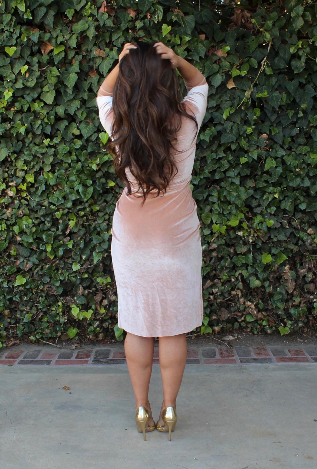 tia-wong-pink-velvet-dress