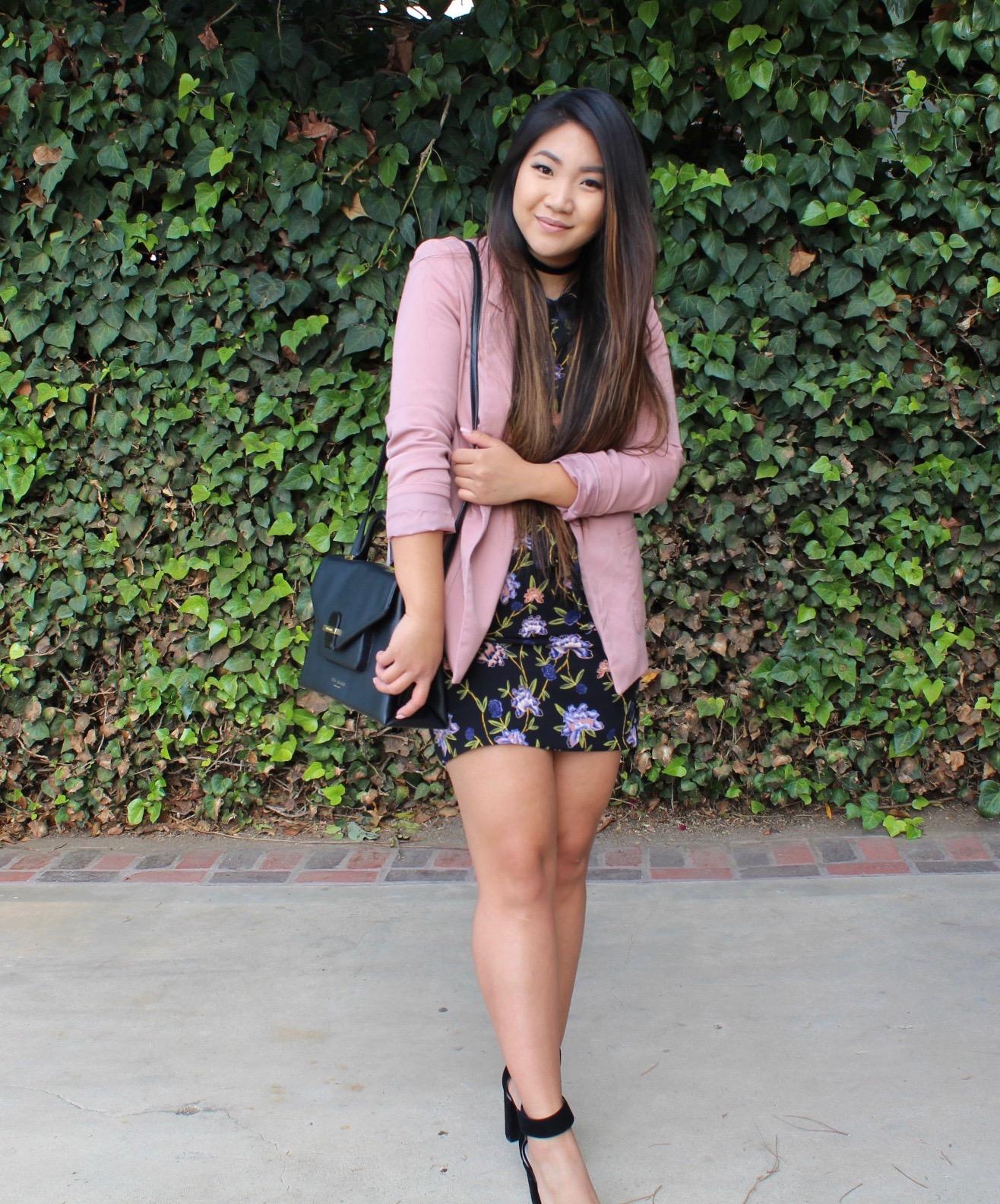 Tia Wong - Dusty Rose Blazer